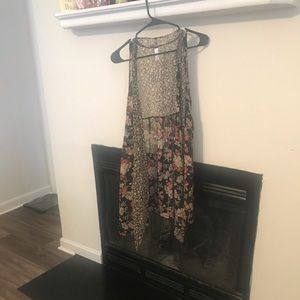 Target Floral Duster. Size S/M